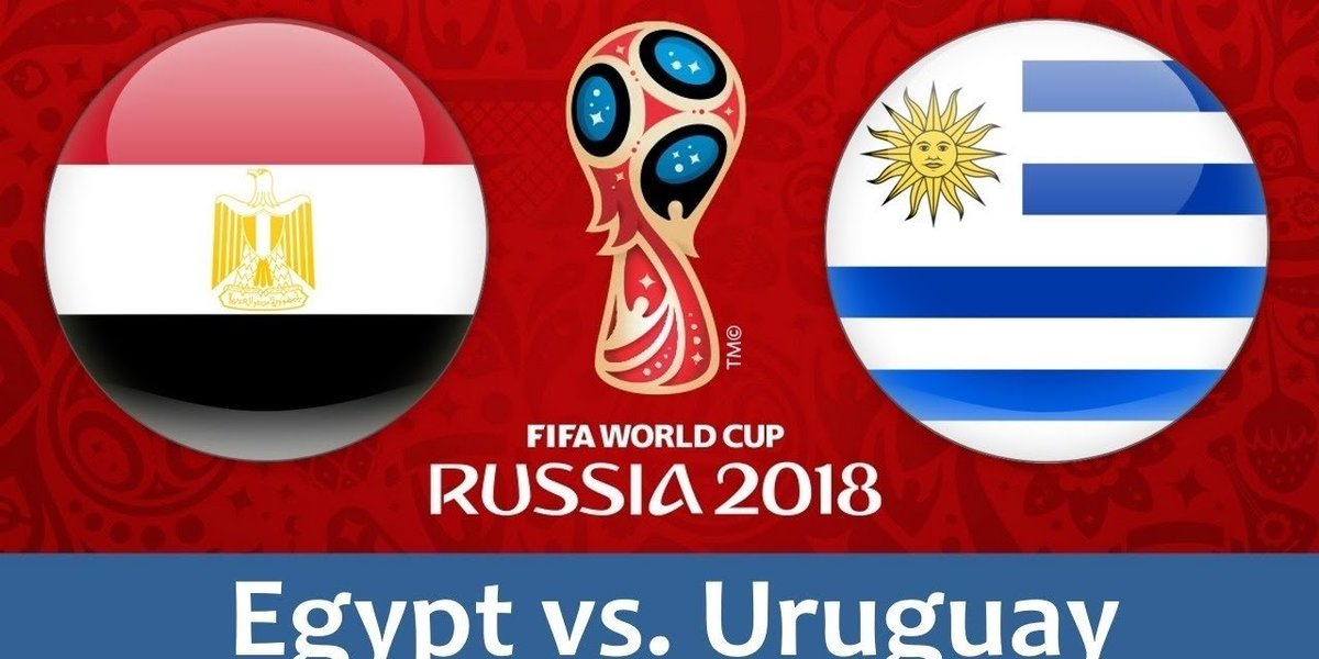 LIVE STREAM NOW World Cup: Egypt - Uruguay goo.gl/KxEKSs #egyptvsuruguay #Egypt #Uruguay #FifaWorldCup2018 #FIFAWorldCup