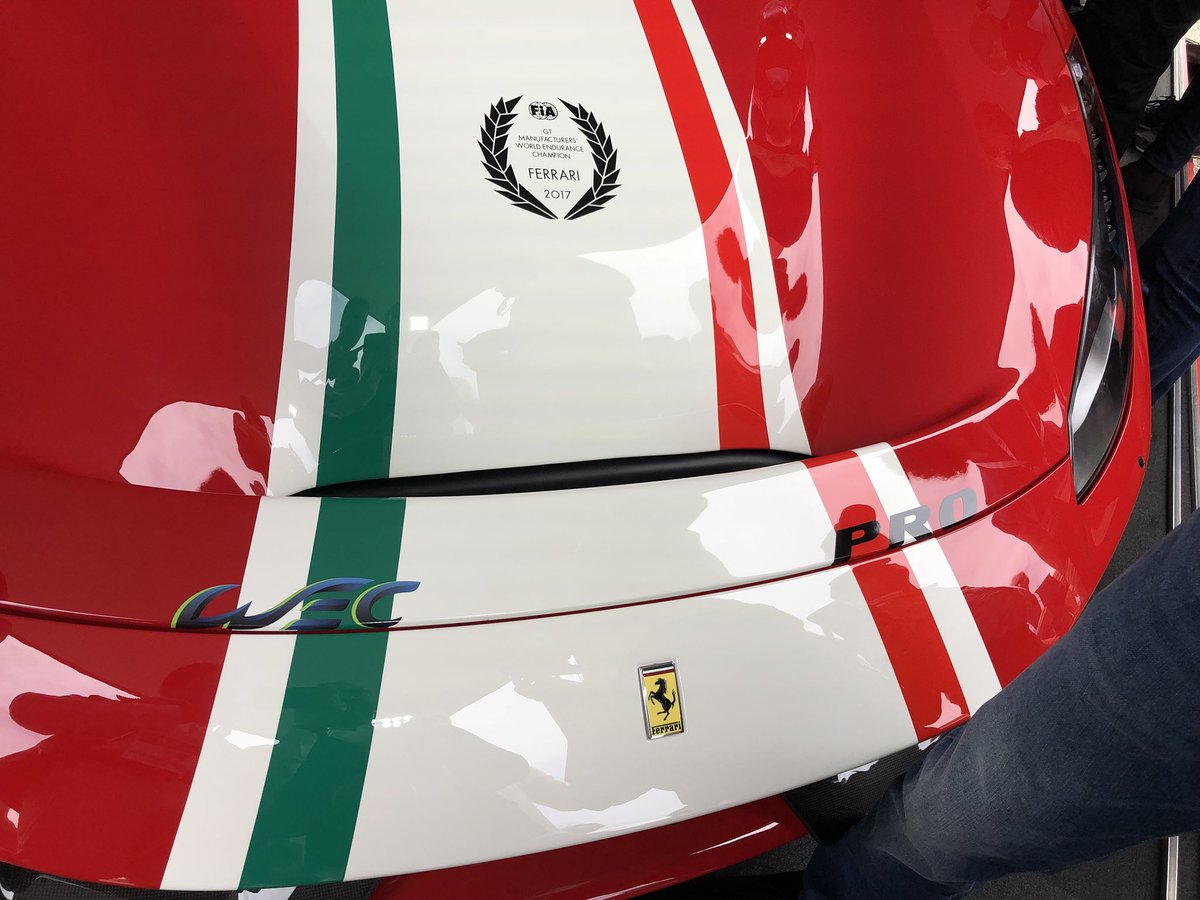 Wec On Twitter Ciao Bella Ferrari 488 Pista Piloti Ferrari With The Tribute To The Wec Can T Take Our Eyes Off Her Ferrariraces Lemans24 Wec Https T Co Tq6xcorbmx