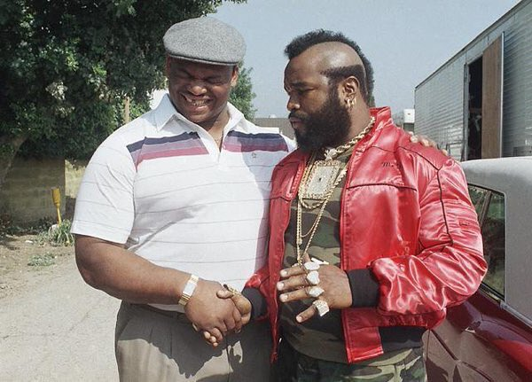 The Fridge and Mr. T. Enjoy your Friday.
