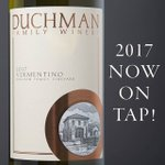 We couldn't wait to share our 2017 Vermentino any longer. This weekend we'll be pouring a sneak peek, but only on tap! Get your growler ready and we'll see you at the winery! #drinkduchman #duchmanwinery #wineontap #texasfinewine #txwine #sneakpeek #vermentino