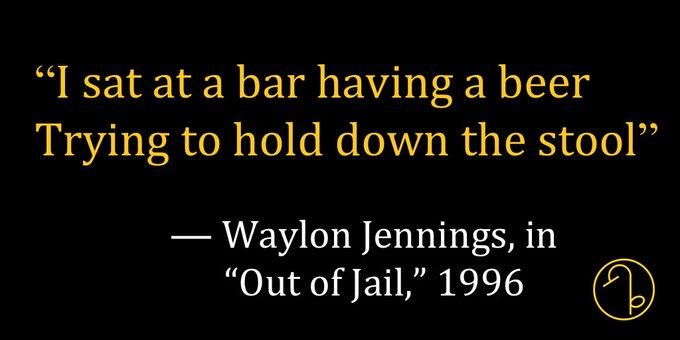 Happy Birthday American singer, songwriter, and musician Waylon Jennings (June 15, 1937 February 13, 2002)