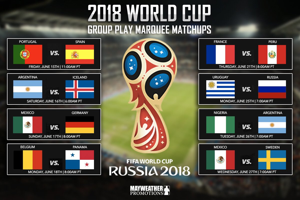 test Twitter Media - Here's the group play marquee matchup we are looking forward to seeing! Who are you rooting for? 🏆 #WorldCup #Russia https://t.co/gKEZzwrefy