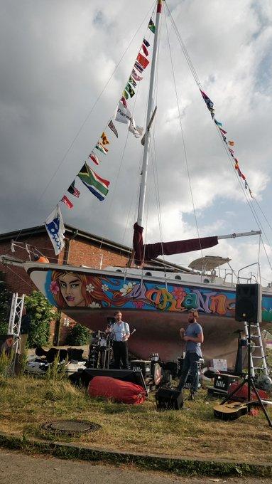 Sehr unterhaltsame Segel-Story der Sailing Conductors zum Abschluss des #waterkant18 @SlngCndctrs #KielerWoche Happy Sailing! Foto