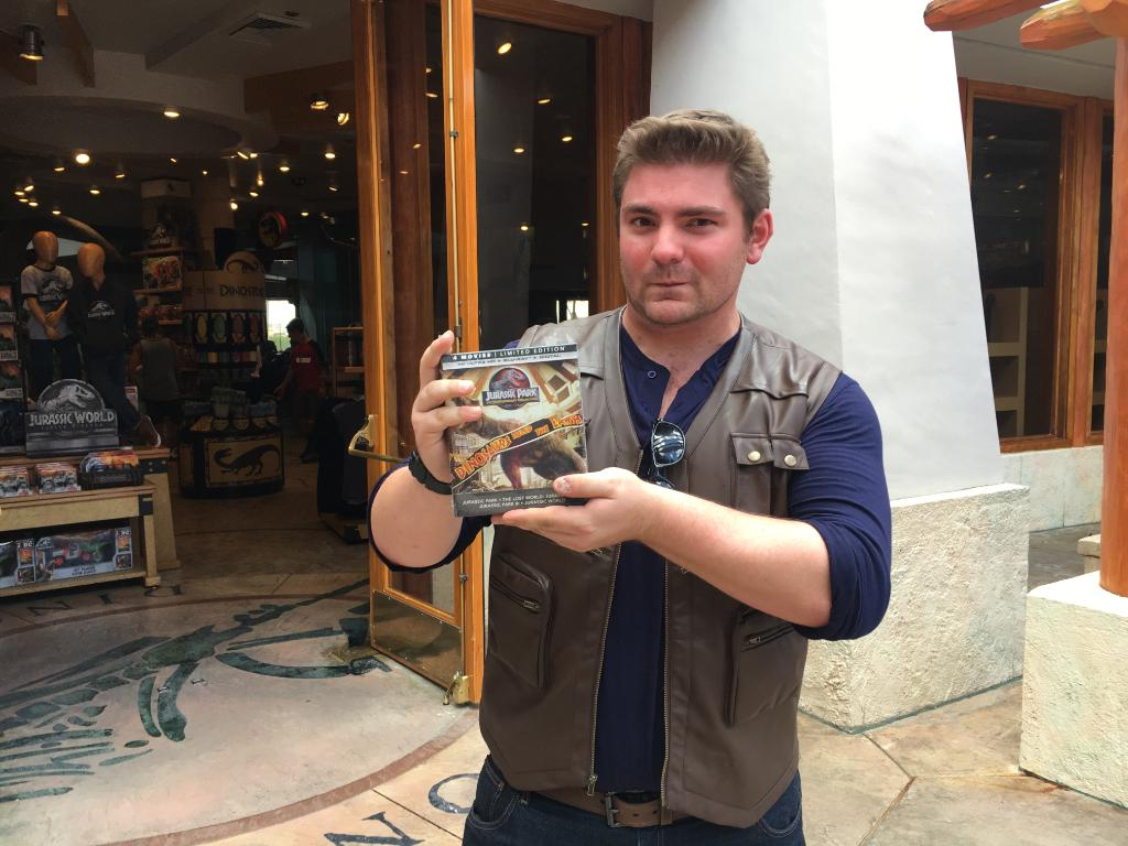 Congrats to our explorer for receiving a Jurassic Park 25th Anniversary Blu Ray Collection!