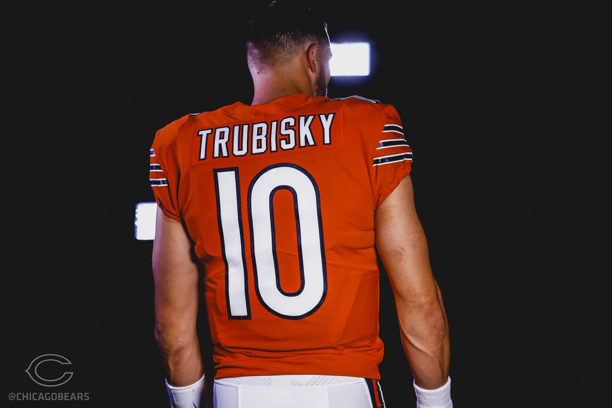 lowest price 4f1eb 6bbed Chicago Bears Womens Jersey Trubisky | Toffee Art