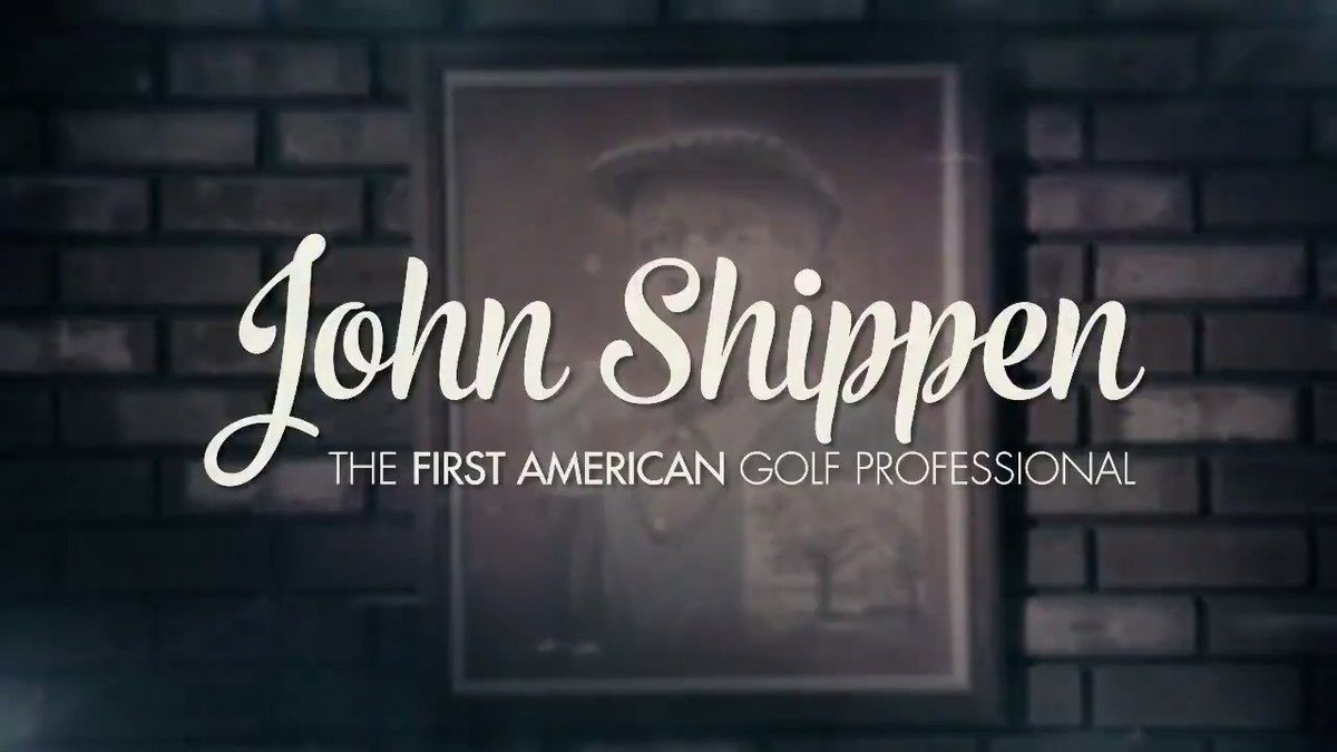 This is a legacy, born here at Shinnecock Hills -- of character, virtue, courage... @DonCheadle tells the story of John Shippen, the first American and African-American golf pro