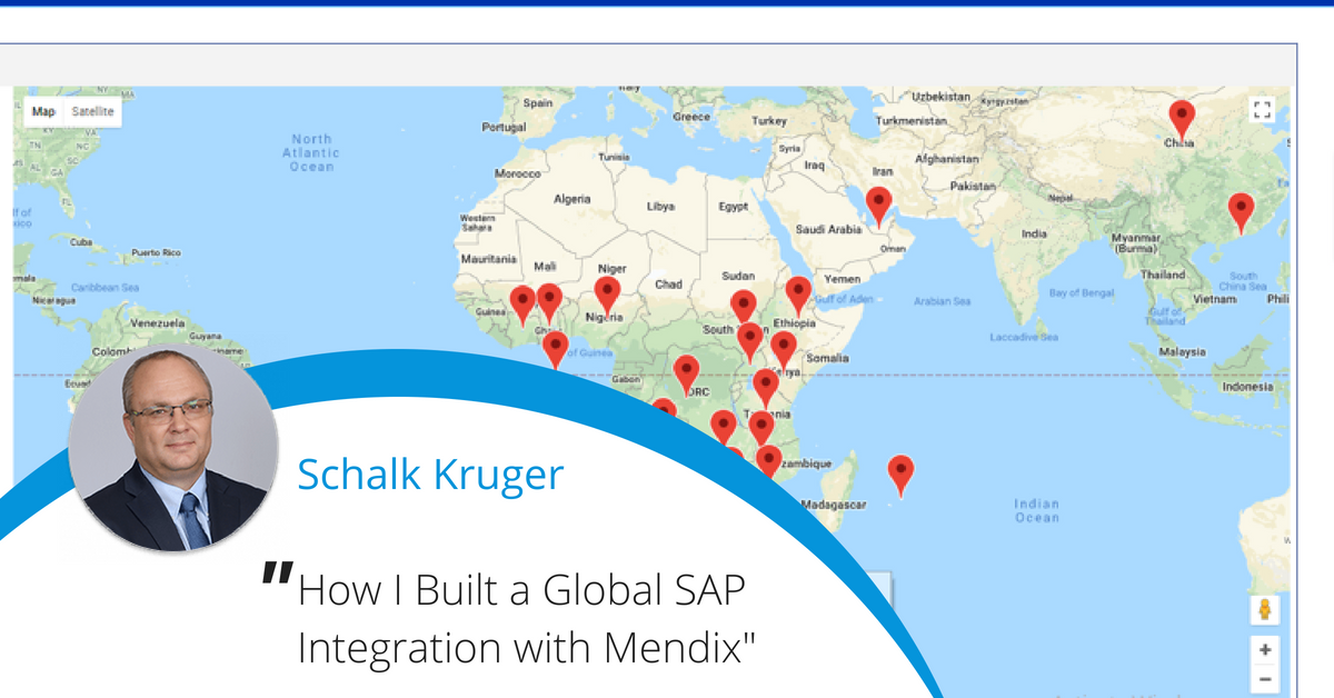 We love this #Mendix feature on one of our global #lowcode developers and a project at Standard Bank! Thanks @Mendix for your partnership!