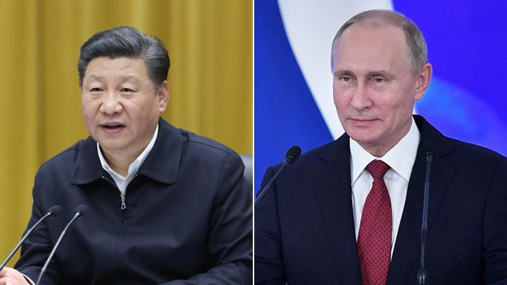 President #XiJinping and his Russian counterpart Vladimir Putin had a telephone talk over bilateral ties. Hailing Putin&#39;s recent state visit to China and his attendance to the SCO summit, Xi said Putin&#39;s visit was a success and had fruitful results.  https:// dwz.mn/Wkso  &nbsp;  <br>http://pic.twitter.com/TdRRvVhWIo