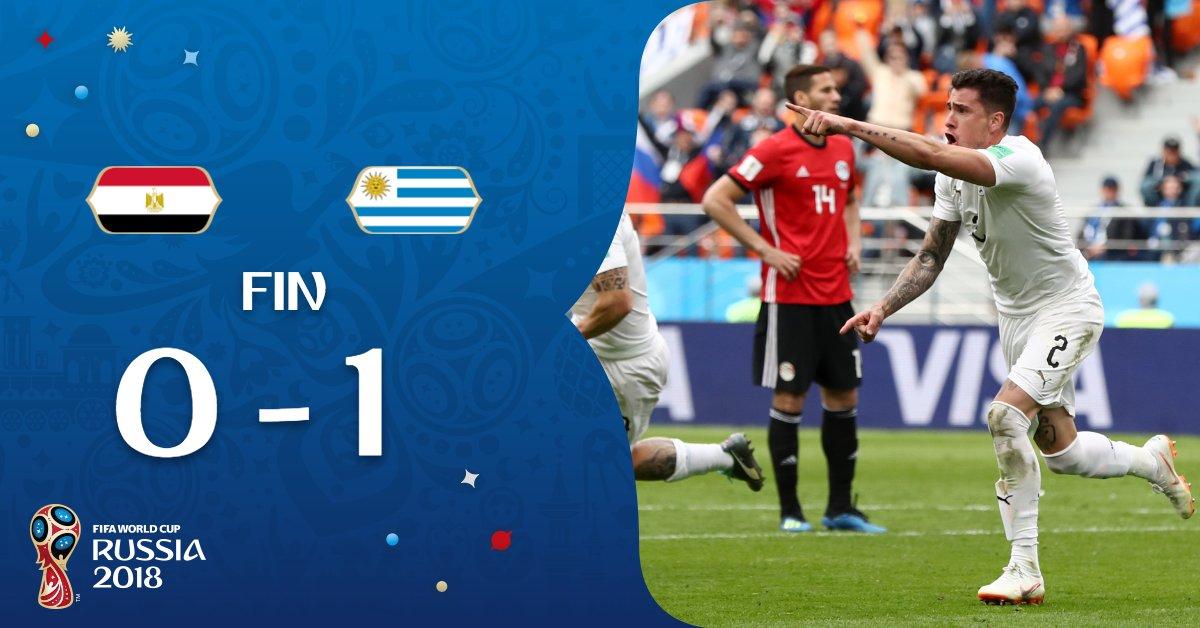 Egypte-Uruguay