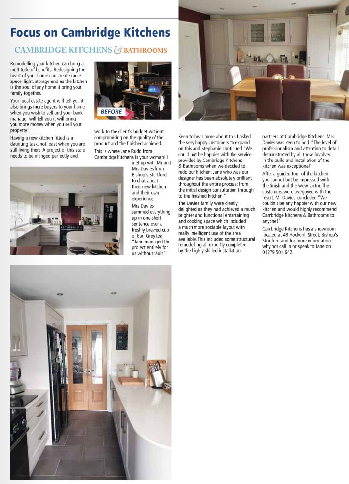 Lovely Article On A Cambridge Kitchens Project In The Bishopu0027s Stortford  Flyer. You Can Read It In Full And See The Great Images Here:  Http://bit.ly/2JPoZlp ...