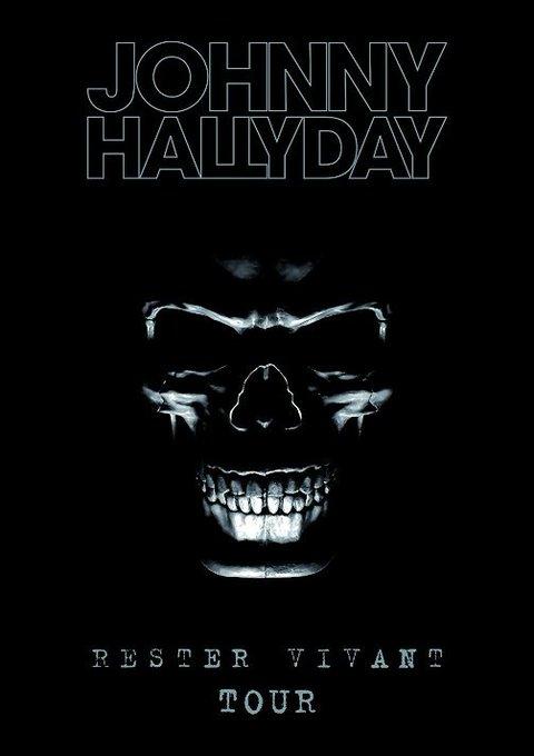 @JohnnySjh #JohnnyHallyday Ce soir dans 150 cinémas CGR diffusion du Rester Vivant Tour Photo
