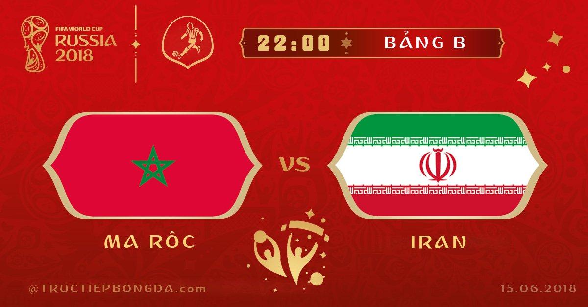 Ma Rốc vs Iran