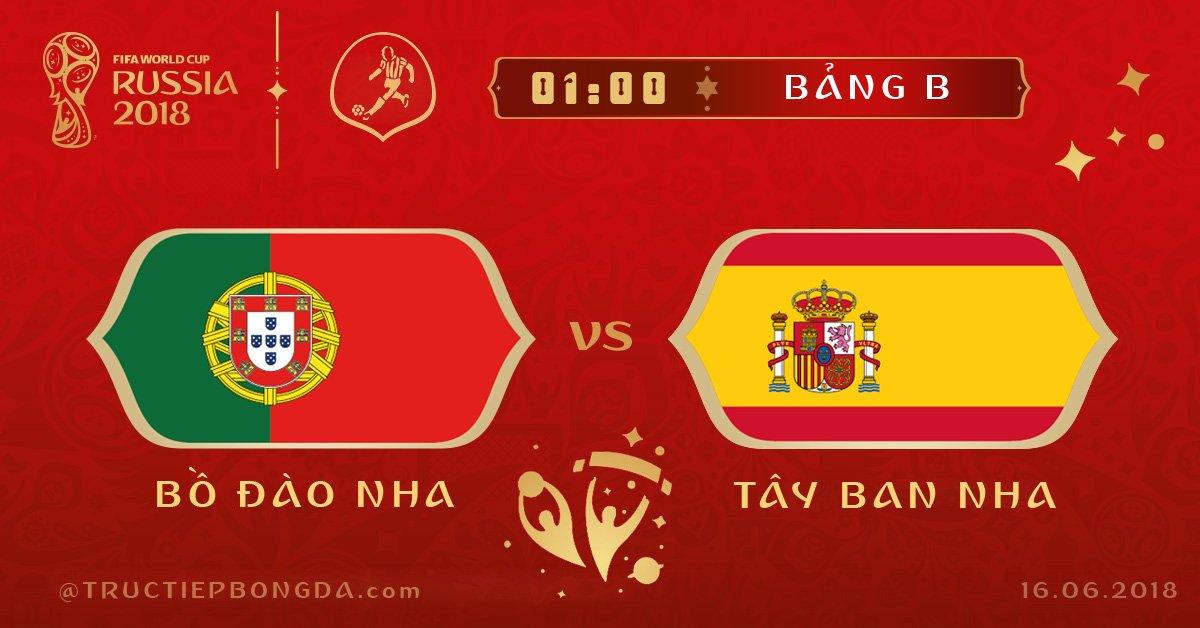 Bồ Đào Nha vs Tây Ban Nha