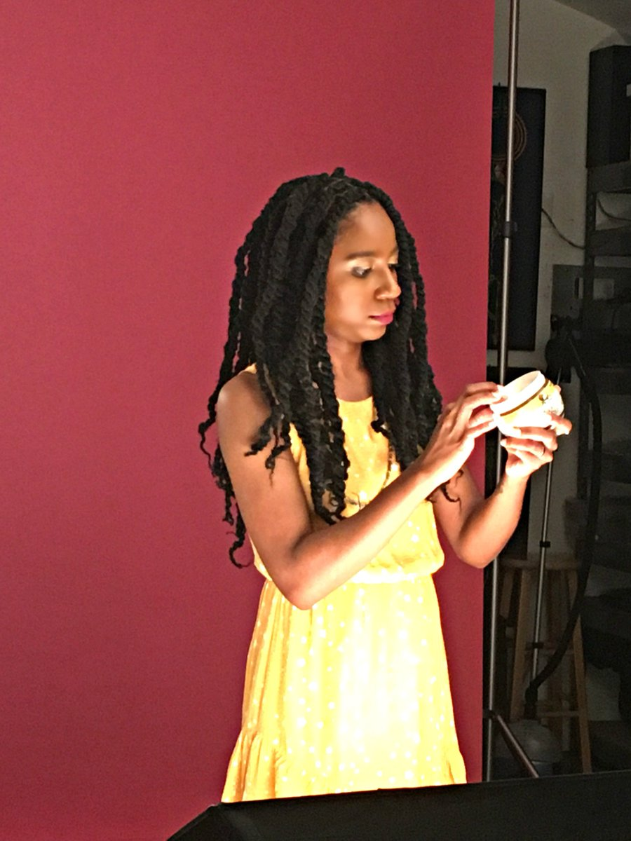 #BTS with @naturallycurly for an upcoming #tutorial #CoconutRestore (pics!)