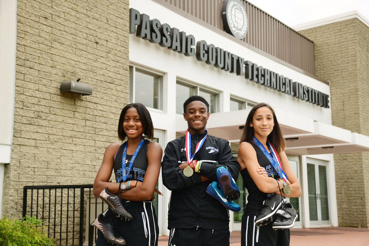 Congratulations to our three Spring Track athletes Leilanie Hinton, Neimar Santhouse, and Ashley Martinez who were PCTIs June Athletes of the Month ! 🏅#hardwork #dedication