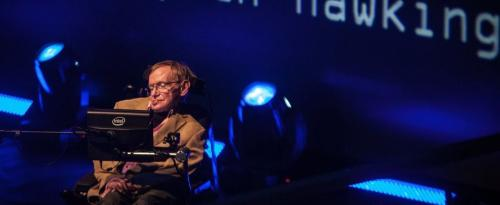 Has fame #astrophisicist🔭 #StephenHawking ever stated📝 on any possible👽evidence during his life-long quest of our complex🔎universe🌀undstdg❓ Photo
