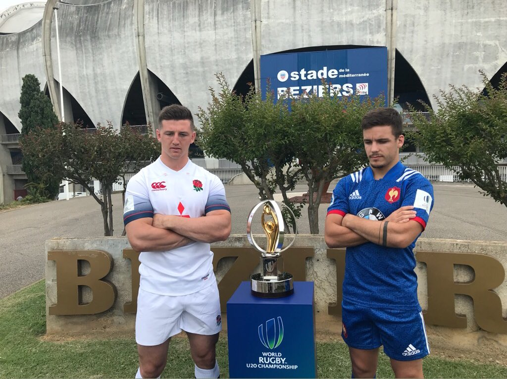 test Twitter Media - 🌏 Captains shoot: the two captains are set for their #WorldRugbyU20s Championship final. Who've you got to win it all? https://t.co/qus56K19cs