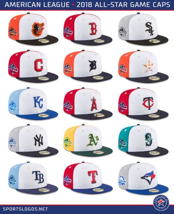 04568d30265 ... See them all with tons of pics and details here  http    news.sportslogos.net 2018 06 15 mlb-unveils-2018-all-star-uniforms-stars- stripes-and-pinwheels  ...