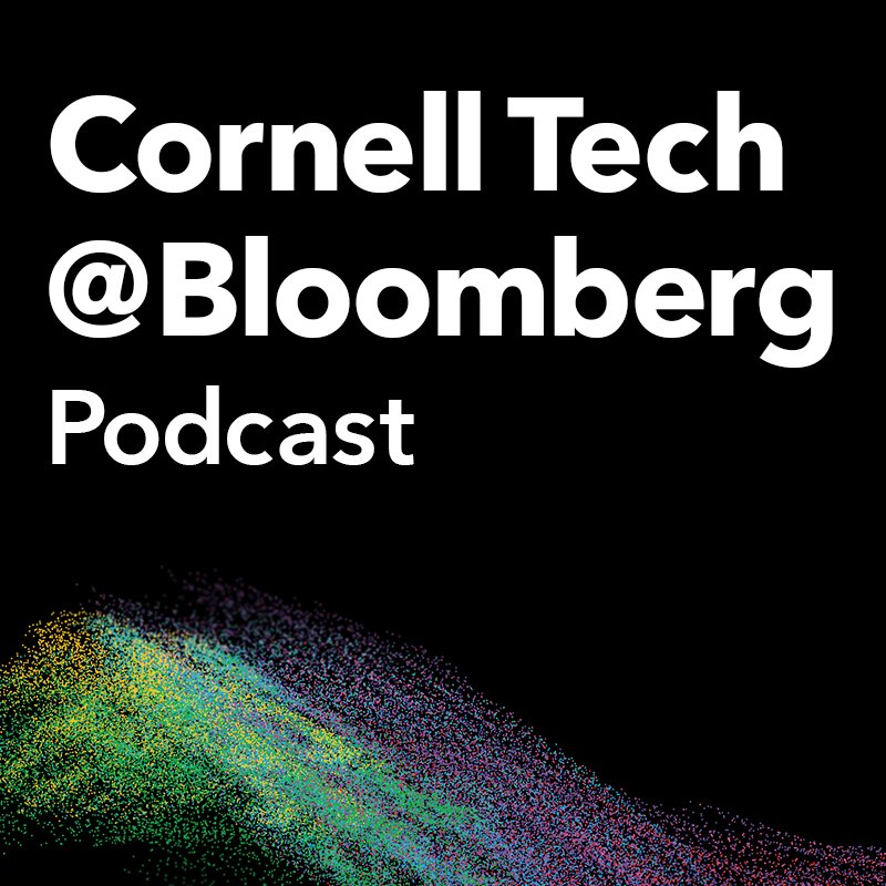 The Cornell Tech @ Bloomberg podcast is LIVE! Each #CTechBBG podcast episode features wide-ranging discussions with #tech's top #entrepreneurs, #startup founders & #venture investors about the most pressing issues facing them and the industry. Listen now: bloom.bg/2LPjxzx