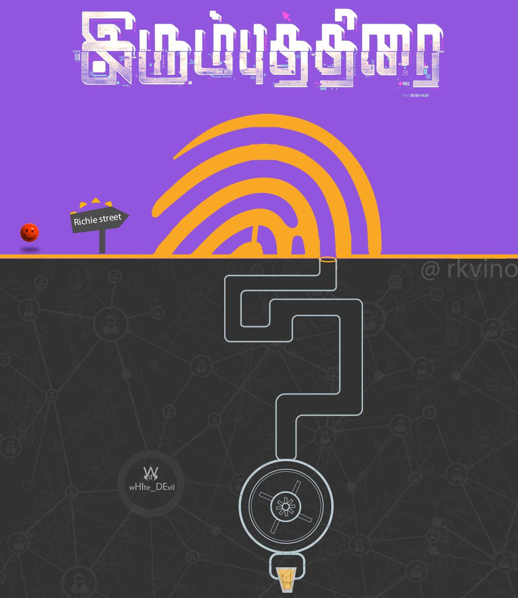 Vinodh Kumar Raju On Twitter My Minimal Movie Poster Design In Tamil Irumbuthirai Abimanyudu Movieposter Minmalposter Tamilposter