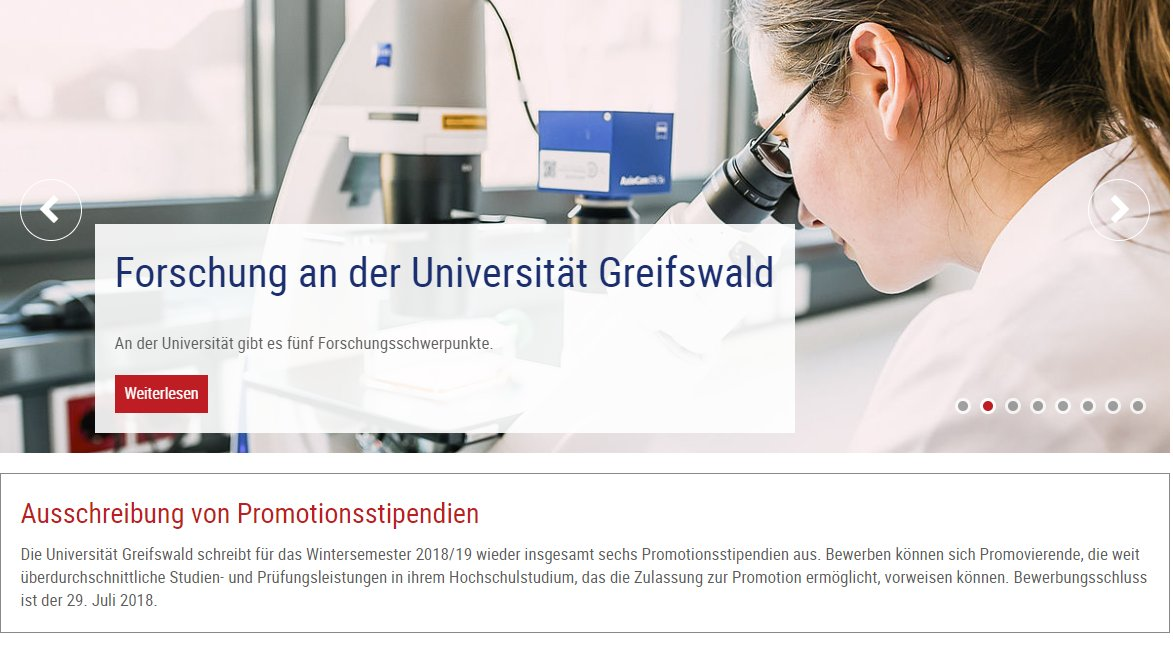markus mnzenberg on twitter promotionsstipendien unigreifswald all areas phd scholarships apply until deadline 29 july httpstcommu7pmw032 - Uni Greifswald Bewerbung