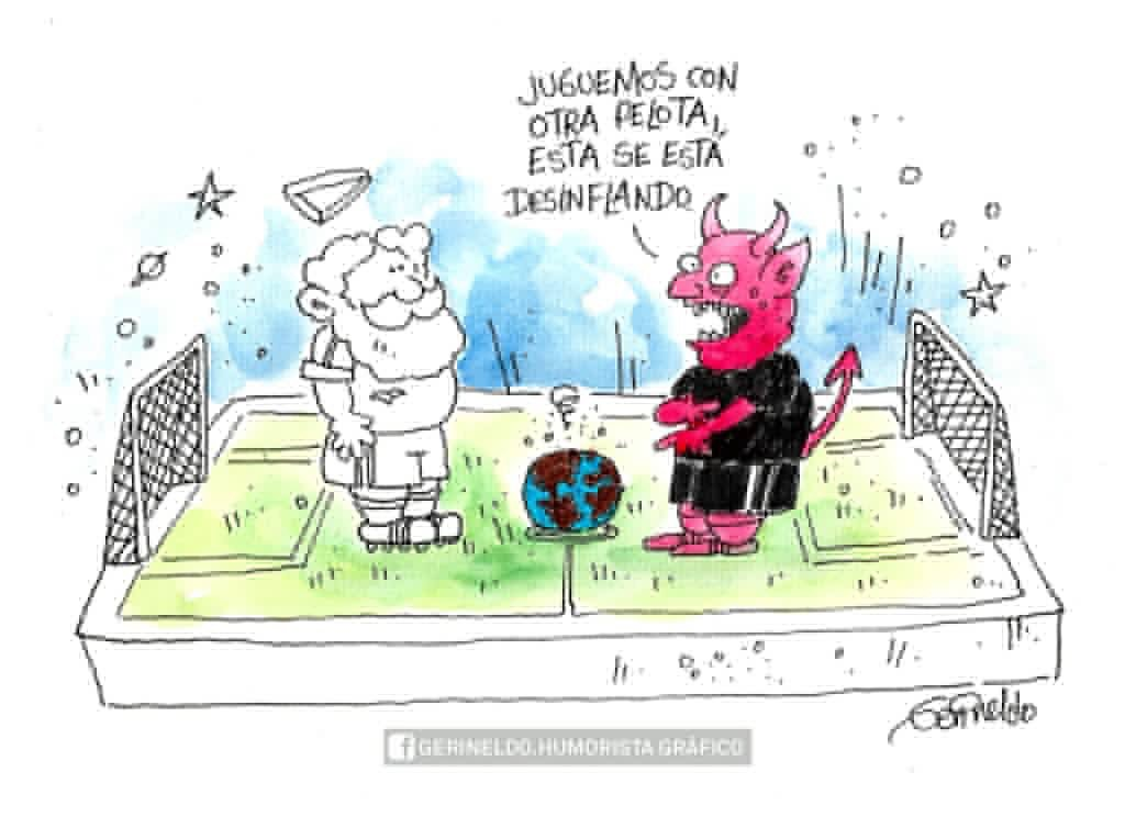 Mundo desinflado. Gerineldo Monero