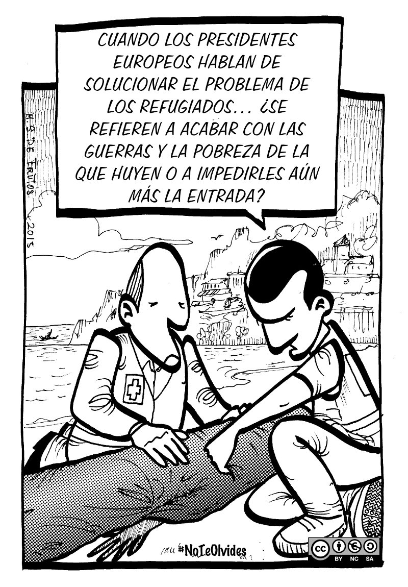 #NoTeOlvides para que quienes huyen de la guerra NO mueran en el mar. cear.es/no-te-olvides-…