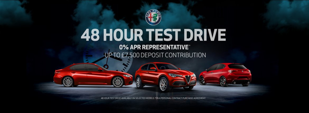 Motor Village in Marylebone and Croydon is offering you the opportunity to experience an Alfa Romeo for 48 hours! on selected models! https://t.co/6lj5iEWIdt
