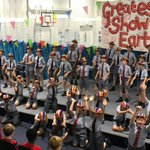 Wow we were really impressed with the performance from our Year 5 with songs from The Greatest Show. Mrs Piercy & Mrs Armstrong were so proud. There was colour, charisma & huge energy from our talented chaps! Have a look at Facebook to see a video clip. #drama #song
