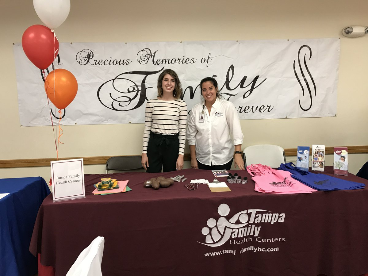 "Tampa Family Health Centers on Twitter: ""#TFHC is excited to be part of the  First Annual @THAuthority Strong Families Initiative Event today! ""Family  is just a word until its put into action."""