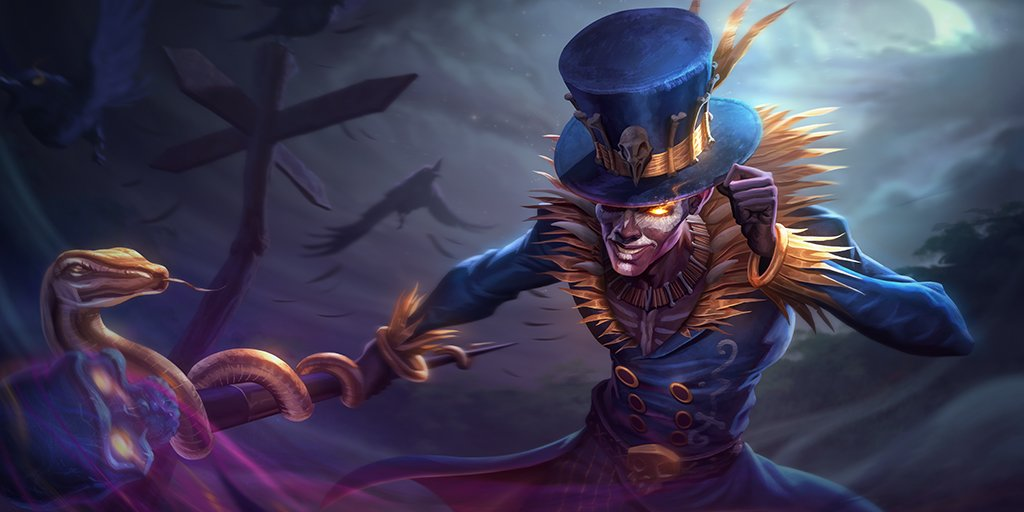 Smite On Twitter Baron Samedi S Recolor And Mastery Skins Release In 5 11 Https T Co 4wfulxcpjj Divineuprising