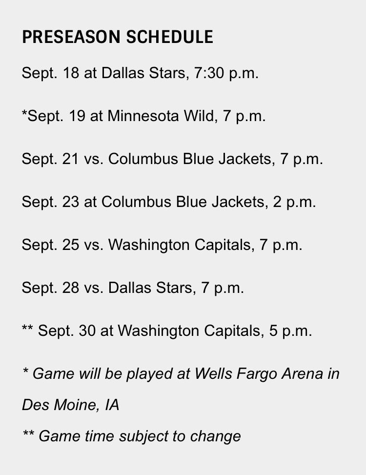 Jeremy Rutherford On Twitter Stlblues Announce Their Preseason