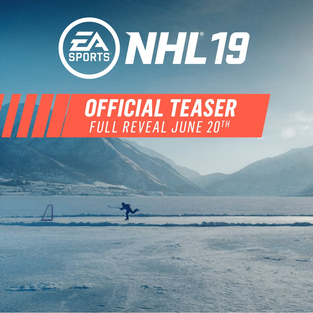 Get your first look at #NHL19 during the #NHLAwards on June 20th ��https://t.co/r3Y6VY7Kzz https://t.co/Z9E108iNab