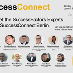 """Loving #SuccessFactors so far? Have general questions for us? Visit our """"Meet the Expert"""" area at #SuccessConnect Berlin to chat with one of our top consultants! https://t.co/POgZlYDQmP"""