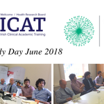 Lovely day with our ICAT Fellows yesterday @crdireland! Thanks to fantastic speakers Dr Fionnuala Keane of @HRB_CRCI and Dr Anne-Marie Miller from the CRDI / @CURAMdevices partnership