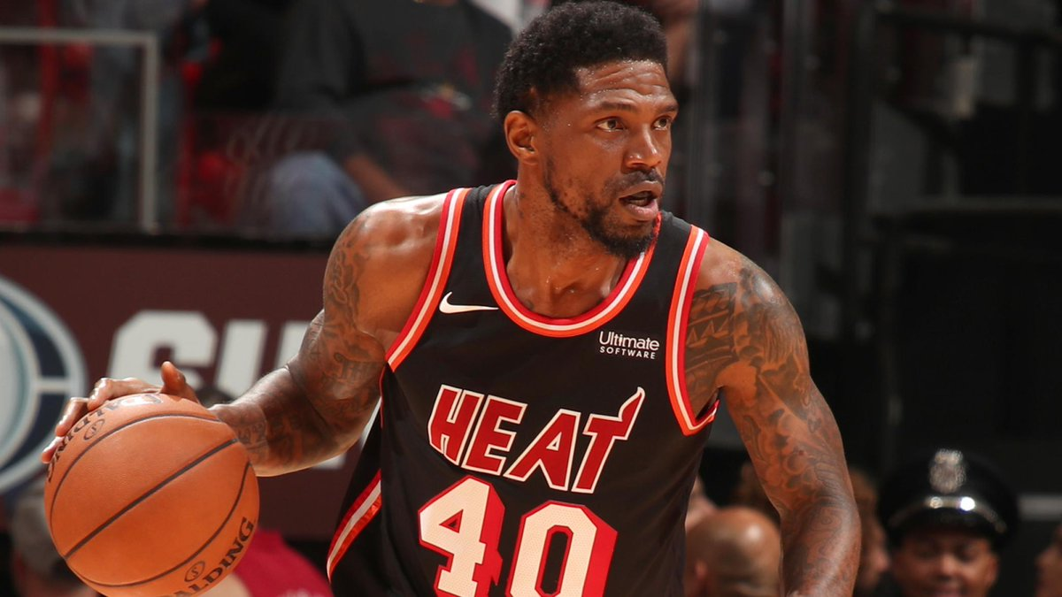 Miami Heats Udonis Haslem says hes open to playing overseas. ➡️: on.nba.com/2HRIyYq