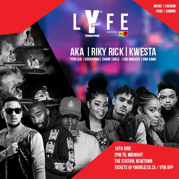⚠️⚠️ ANNOUNCEMENT ⚠️ ⚠️ If you won #LYFE tickets (online or on-air) and have not collected them, you get ONE LAST CHANCE: Come to the YFM offices tomorrow between 10am - 12pm with your proof of identification. ⚠️⚠️ No chancers please!! ⚠️ ⚠️ Photo