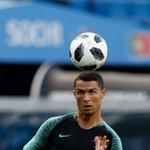 Cristiano Ronaldo Twitter Photo
