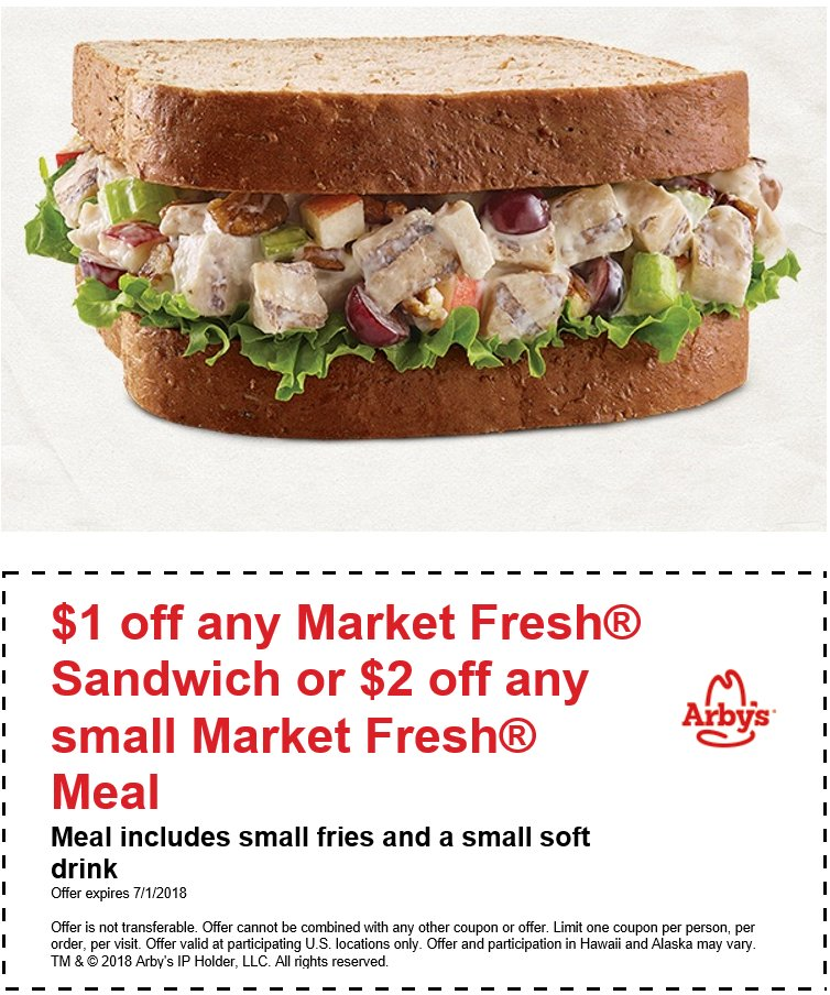 image relating to Printable Arbys Coupons identify Foody Discount coupons (@foodycoupons) Twitter