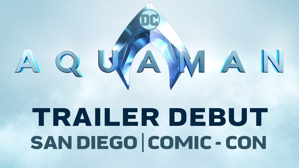 Dear, WHOEVER IS LISTENING! I just want to be at this panel for the #Aquaman trailer!!!!!!! 😱😍😱😍 #SDCC #AquamanTrailer