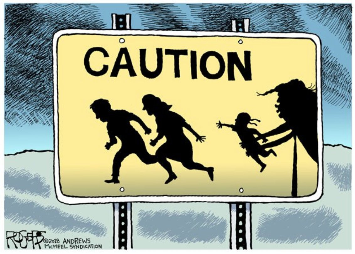 This is the cartoon that got @Rob_Rogers fired after 25 years working at the Pittsburgh Post-Gazette. Spread it around like a lice outbreak at a pre-k.