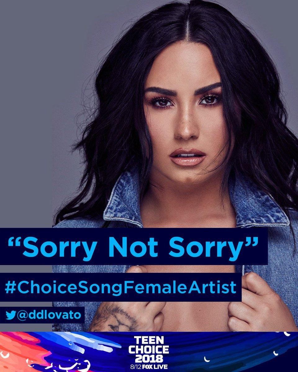 Demi Lovato's photo on #TeenChoice