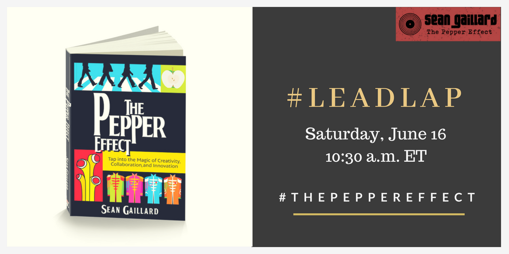 30 Minute Countdown for #LeadLAP! Getting excited to talk about #ThePepperEffect! @dbc_inc