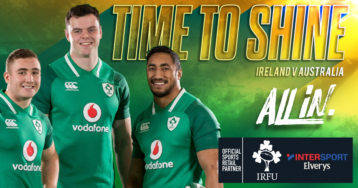 b77292d94f5 It s Ireland s time to shine! Ireland take on Australia in the 2nd test of  their tour down-under tomorrow