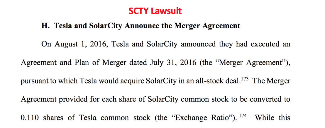 Teslacharts On Twitter 18 On August 23 2016 Solarcity Offered