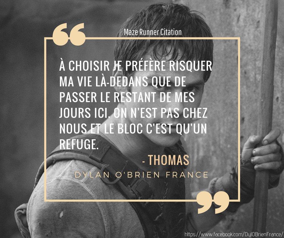 Dylan O Brien France On Twitter Moment Citation