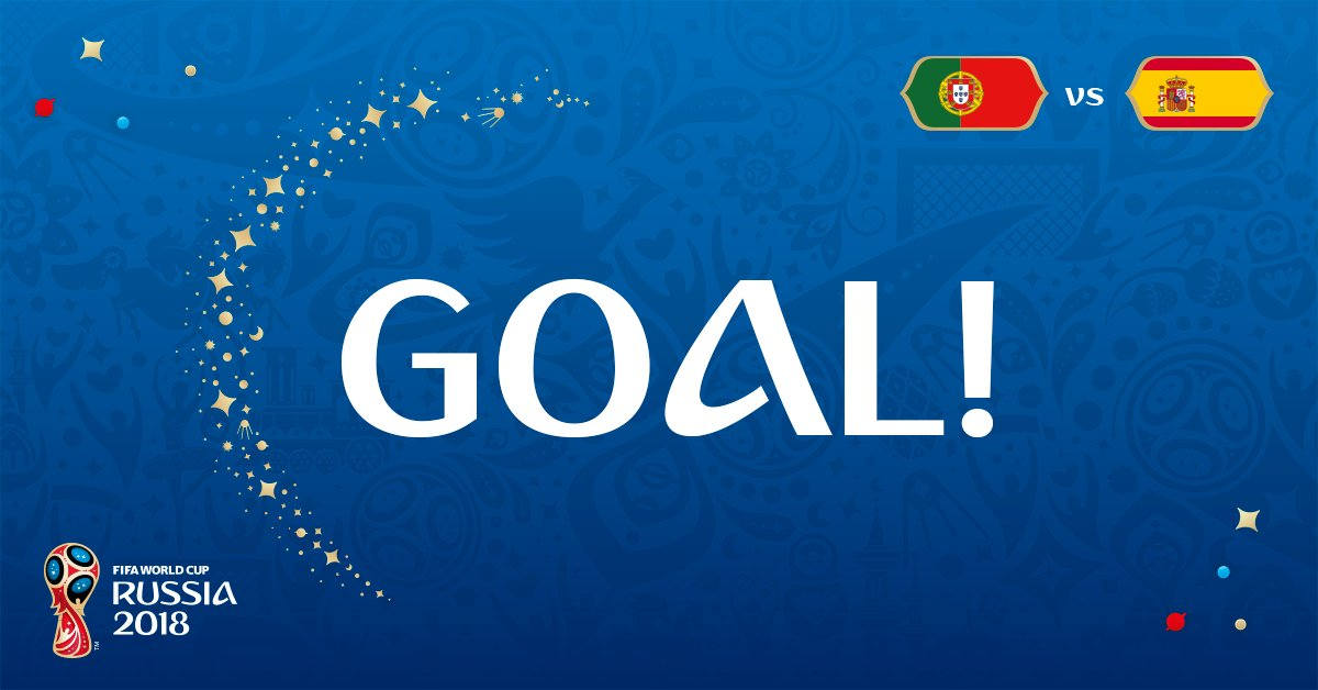 #PORESP 2-1!  @Cristiano grabs his second of the game!