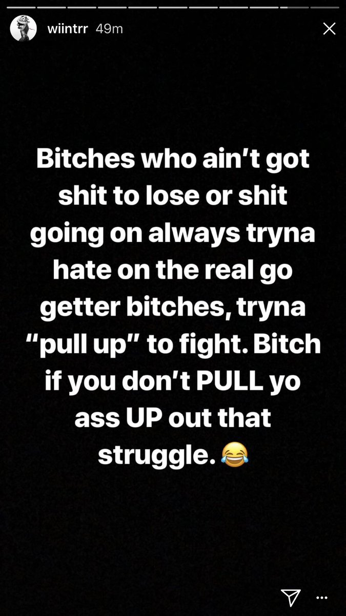 Words from the wise @Wiintrr 💙