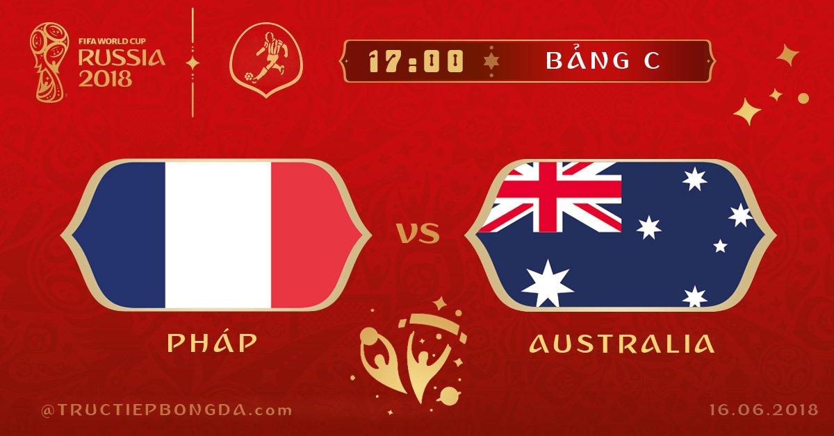 Pháp vs Australia