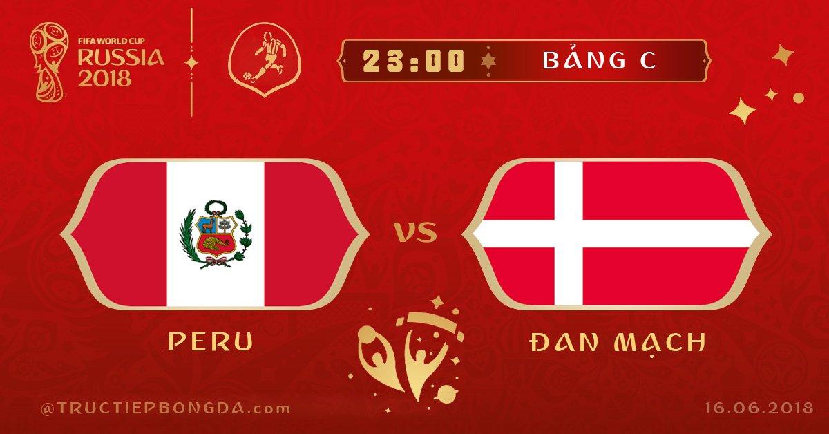 Peru vs Đan Mạch
